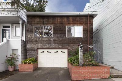 San Francisco Single Family Home New: 424 Arlington