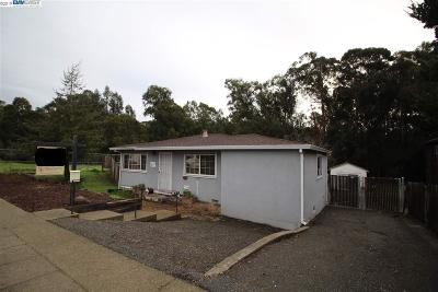 Castro Valley Single Family Home For Sale: 3115 Grove Way