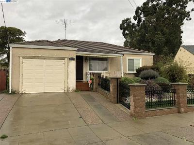 San Leandro Single Family Home New: 1302 Brookside Dr