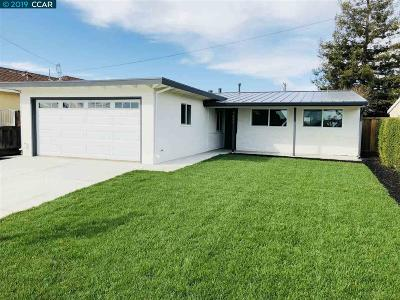 Fremont CA Single Family Home For Sale: $1,095,000