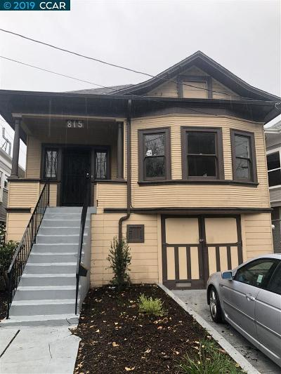 Oakland Single Family Home New: 815 Aileen