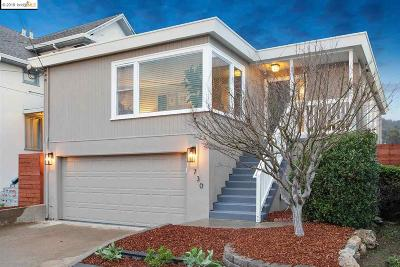 El Cerrito CA Single Family Home New: $869,000