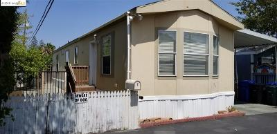 Contra Costa County Mobile Home For Sale: 55 Pacifica Ave