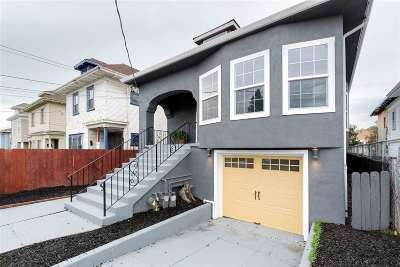 Oakland Single Family Home New: 2841 Chestnut St