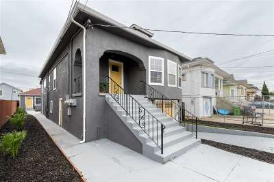 Oakland Multi Family Home New: 2841 Chestnut St