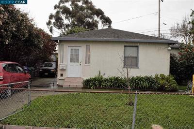 San Pablo Single Family Home Pending: 2520 Merritt Ave