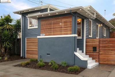 Oakland Single Family Home New: 3808 Bayo St