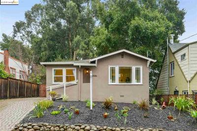 Oakland Single Family Home New: 3046 Partridge Ave