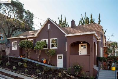 Oakland Single Family Home New: 1001 Elsinore Ave