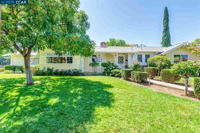 Concord Single Family Home Pending Show For Backups: 3594 Kimball Way