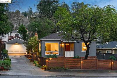 Oakland Single Family Home New: 4242 Mountain Blvd