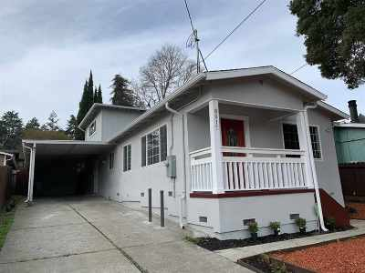 Oakland Single Family Home New: 8017 Earl St