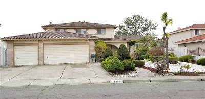 El Sobrante Single Family Home Active - Contingent: 1259 Fascination Cir