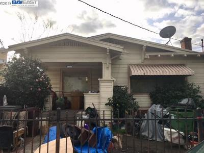Oakland Single Family Home Sold: 2008 84th Ave
