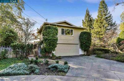 Walnut Creek CA Single Family Home New: $1,149,000