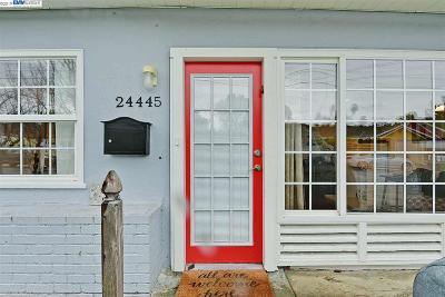 Alameda County Single Family Home New: 24445 Alves St
