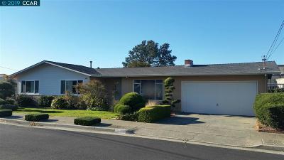 El Cerrito Single Family Home Back On Market: 1123 Norvell Ct