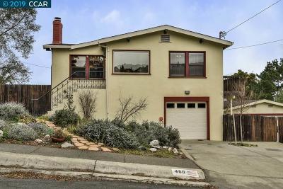 Crockett Single Family Home For Sale: 460 Edwards St