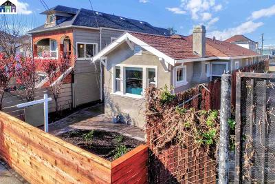 Oakland Single Family Home For Sale: 2419 Linden St