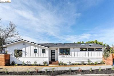 Berkeley Single Family Home Pending Show For Backups: 1434 7th Street