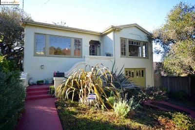 Berkeley Single Family Home For Sale: 1738 Thousand Oaks Blvd