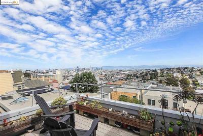 San Francisco Single Family Home Active - Contingent: 3607 Market St
