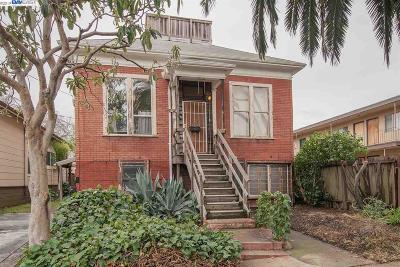 Berkeley Multi Family Home Pending Show For Backups: 2738 Grant St