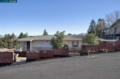 Walnut Creek Multi Family Home For Sale: 144 Margarido Dr