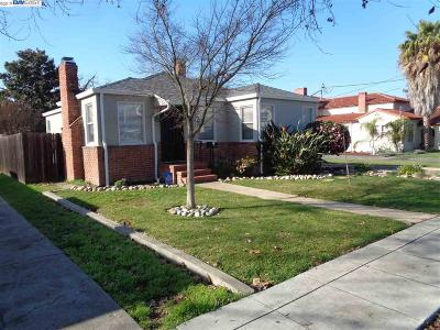 Hayward Single Family Home Back On Market: 21039 Montgomery Ave.