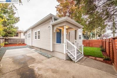 Oakland Single Family Home For Sale: 5345 Martin Luther King Jr Way