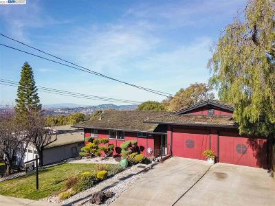 Hayward Single Family Home Sold: 3486 Bridle Dr