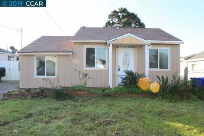 San Pablo Single Family Home For Sale: 1800 Sutter Ave