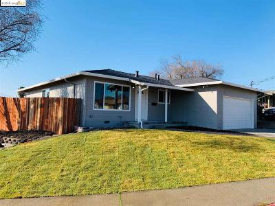 Antioch Single Family Home Price Change: 1316 E 13th St