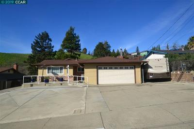 Pinole Single Family Home For Sale: 2535 Wright Ave