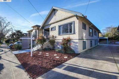 Berkeley Single Family Home For Sale: 1415 Ward Street