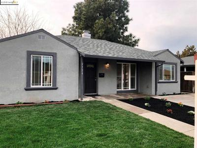 Antioch Single Family Home Price Change: 2724 Capistrano St