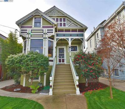 Alameda Single Family Home Pending Show For Backups: 2214 Clinton Ave