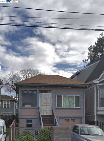 Oakland Single Family Home For Sale: 3042 Union