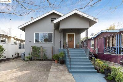 Berkeley Single Family Home Price Change: 1248 Burnett St