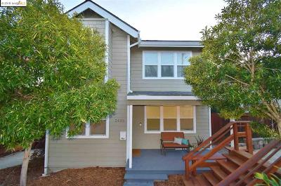 Oakland Single Family Home For Sale: 2435 Potomac St