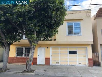 San Francisco Single Family Home For Sale: 250 Gaven St