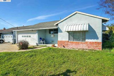 San Leandro Single Family Home For Sale: 1527 Purdue St