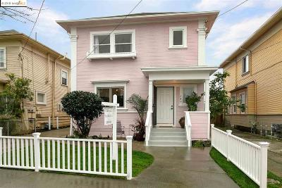 Oakland Single Family Home For Sale: 849 34th St