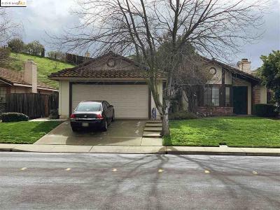 Antioch Single Family Home For Sale: 2620 Asilomar Dr