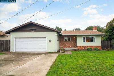 Pinole Single Family Home Pending Show For Backups: 216 Pinon Ave