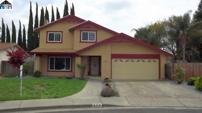 Vacaville Single Family Home For Sale: 650 Carson Ct.