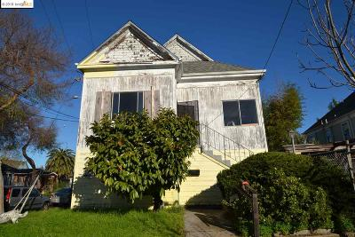 Berkeley Single Family Home For Sale: 1821 Woolsey St