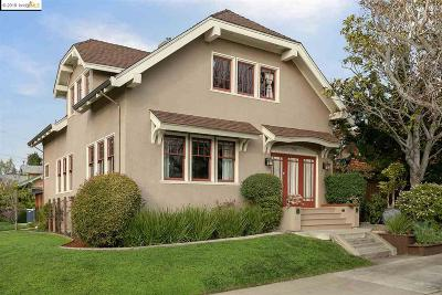 Oakland CA Single Family Home For Sale: $1,850,000