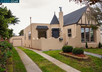 San Francisco Single Family Home Active - Contingent: 35 De Soto Street