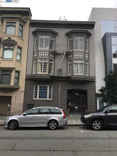 San Francisco Multi Family Home For Sale: 1753 Washington St